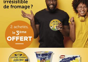 Promo cheese dans lesboutiques Total de Conakry