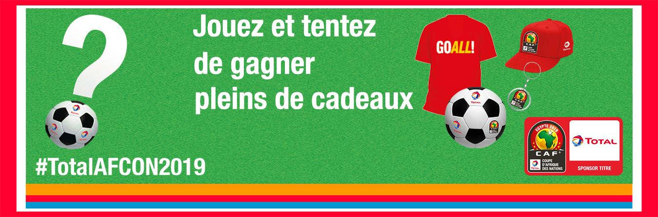 Campagne CAN Total 2019 jeux quiz Facebook