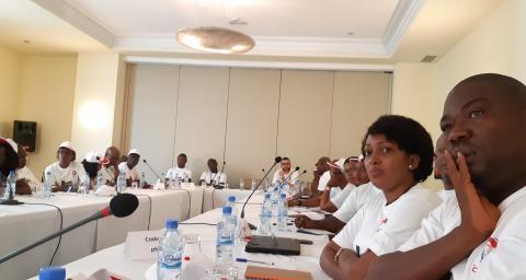 Journée au vert d'encadrement Total Guinée