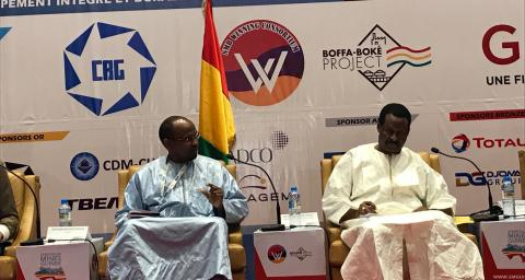Total expose au Symposium Mines Guinée 2019